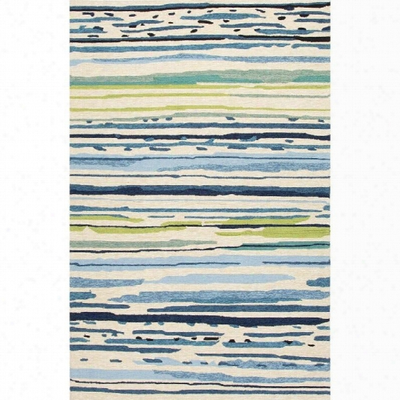 Jaipur Rugs Colours 9' X 12' Rug In Blue And Green