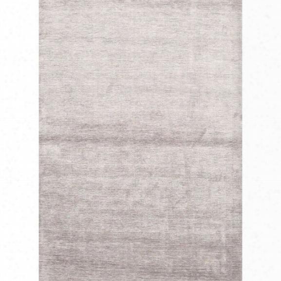 Jaipur Rugs Lustre 9' X 13' Solids Handloom Silk Rug In Gray