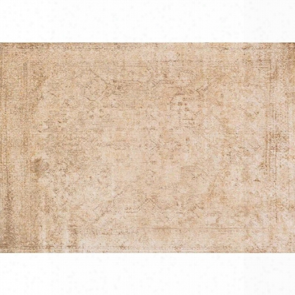 Loloi Anastasia 13' X 18' Rug In Ivory And Gold