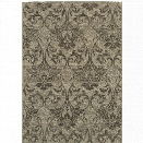 Oriental Weavers Highlands 7'10 x 10'10 Machine Woven Rug in Gray
