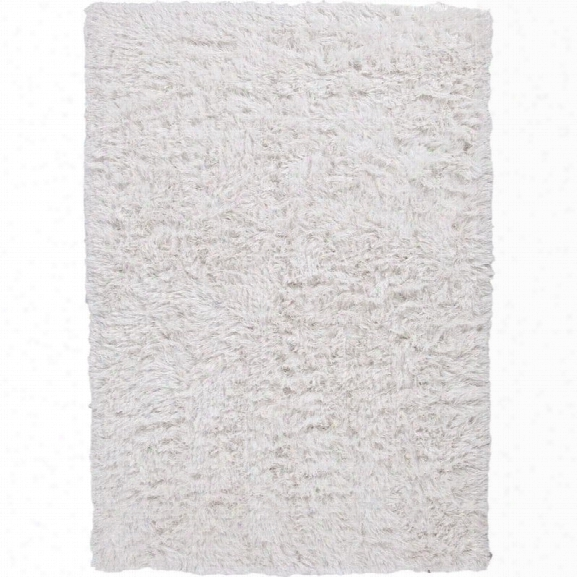Jaipur Rugs Verve 9' X 12' Shag Polyester Rug In Ivory And White