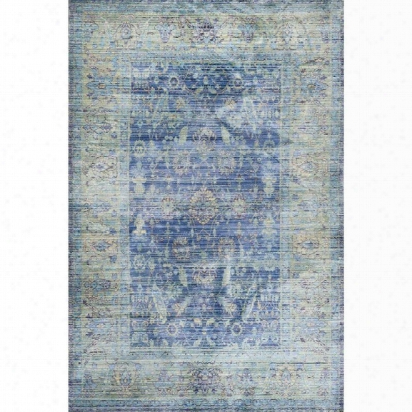Safavieh Valencia Blue Traditional Rug - 8' X 10'