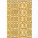 Oriental Weavers Hampton 9'10 x 12'10 Machine Woven Rug in Gold