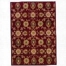 Oriental Weavers Infinity 5'3 x 7'6 Machine Woven Rug in Red