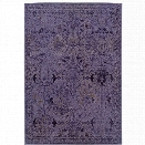 Oriental Weavers Revival 7'10 x 10'10 Machine Woven Rug in Purple