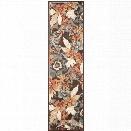 Safavieh Paradise 8' X 11'2 Power Loomed Viscose Rug in Dark Brown