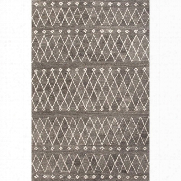 Jaipur Rugs Riad 8' X 10' Hand Tufted Wool Rug In Gray And Ivory