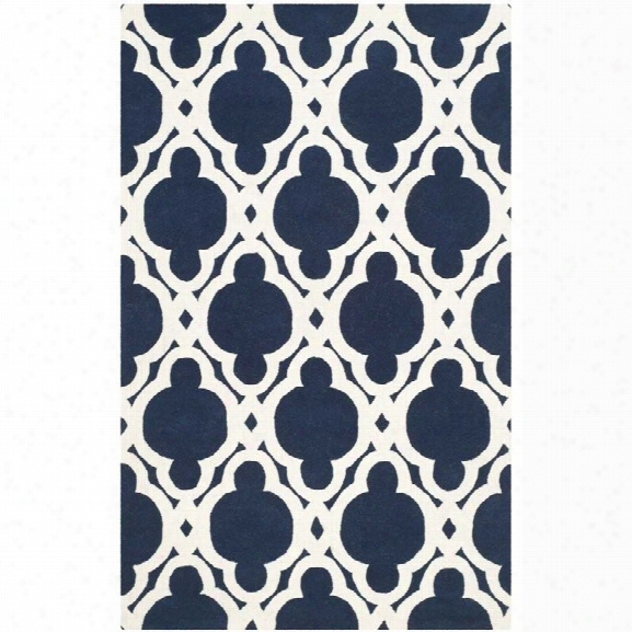 Safavieh Chatham Dark Blue Contemporary Rug - 8' X 10'