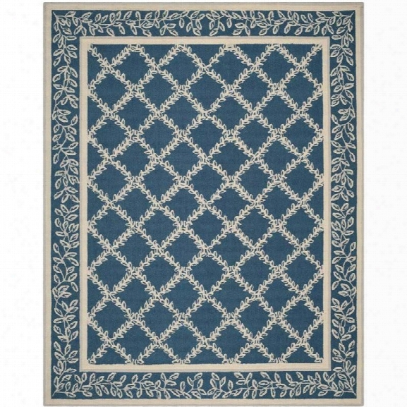 Safavieh Chelsea Navy Transitional Rug - 8'9 X 11'9