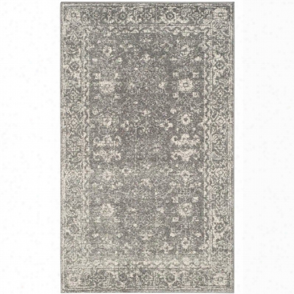 Safavieh Evoke 10' X 14' Power Loomed Rug In Gray And Ivory