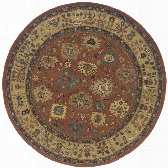 Oriental Weavers Windsor 7'6 Round Hand Tufted Rug In Pink