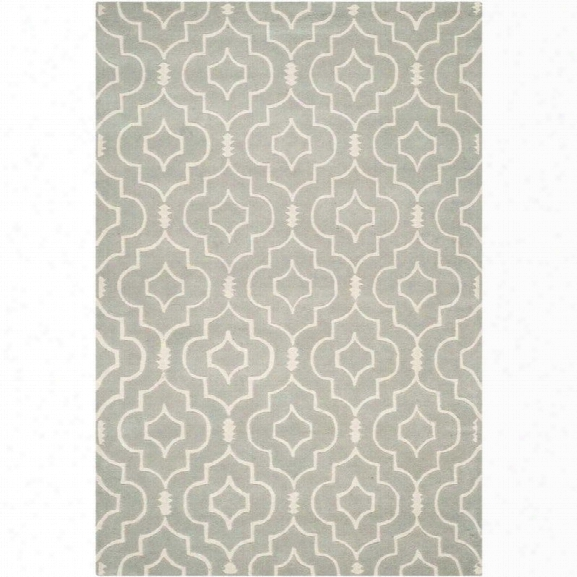 Safavieh Chatham Grey Contemporary Rug - 8'9 X 12'