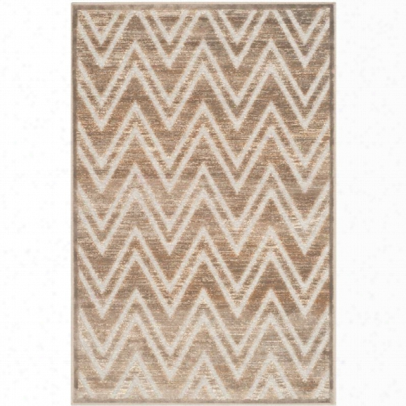 Safavieh Paradise 8' X 11'2 Power Loomed Viscose Rug In Mouse