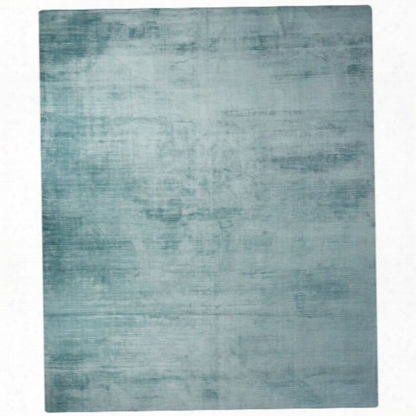 Jaipur Rugs Yasmin 9' X 12' Solids Handloom Art Silk Rug In Blue