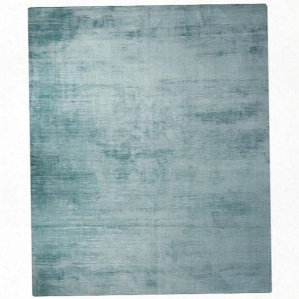 Jaipur Rugs Yasmin 9' X 12' Solids Handloom Art Silk Rug In Blue