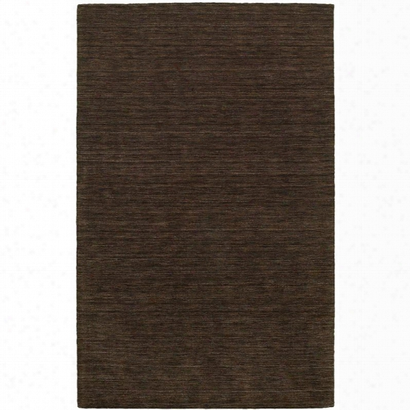 Oriental Weavers Aniston 10' X 13' Hand Crafted Rug In Brown