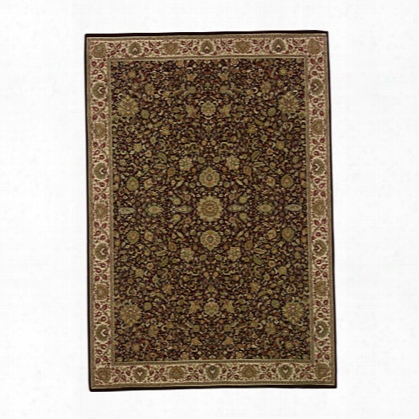 Oriental Weavers Ariana 10' X 12'7 Machine Woven Rug In Brown