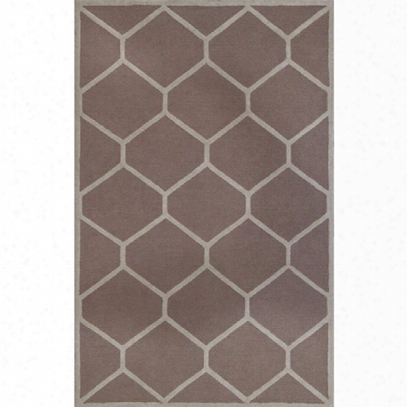 Safavieh Cambridge 9' X 12' Hand Tufted Wool Rug In Beige And Ivory