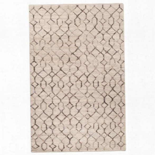 Jaipur Rugs Luxor By Nikki Chu 9' X 12' Naturals Wool Rug In Ivory