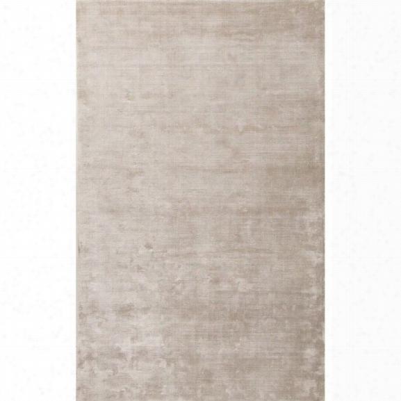 Jaipur Rugs Oxford 9' X 12' Solids Handloom Art Silk Rug In Gray