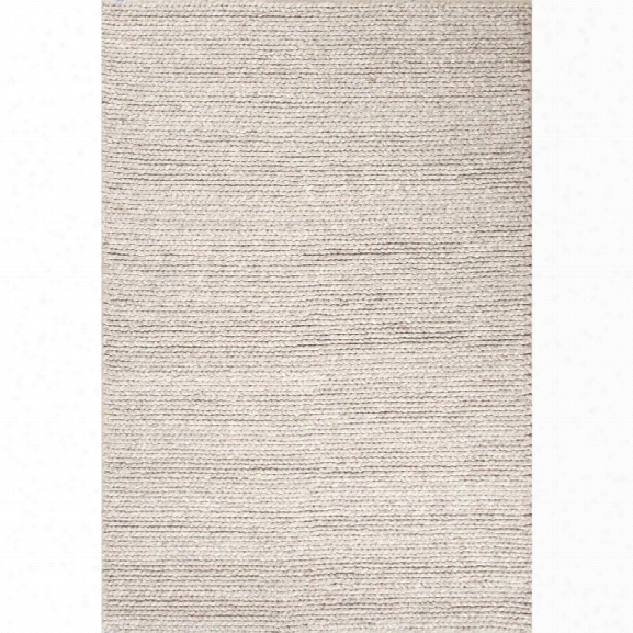 Jaipur Rugs Scandinavia Dula 9' X 12' Textured Wool Rug In Gray