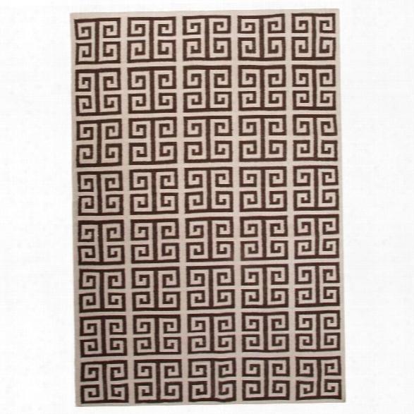 Jaipur Rugs Urban Bungalow 5' X 8' Flat Weave Wool Rug