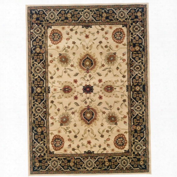 Oriental Weavers Hudson 7'8 X 10'10 Machine Woven Rug In Beige