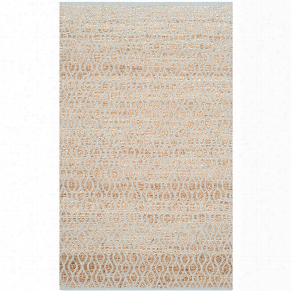 Safavieh Cape Cod 9' X 12' Hand Woven Rug In Silver And Natural