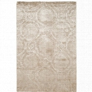Safavieh Mirage 5' X 8' Loom Knotted Viscose Pile Rug in Silver