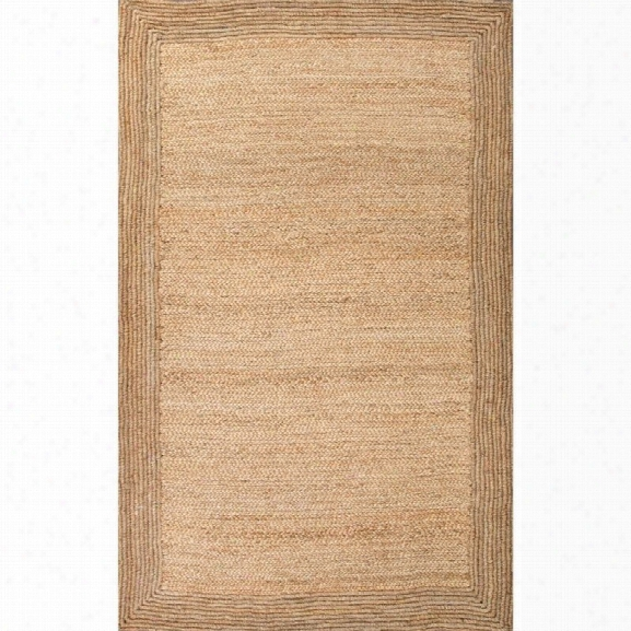 Jaipur Rugs Naturals Tobago 9' X 12' Jute Rug In Ivory And White