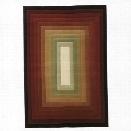 Oriental Weavers Genre 7'10 x 11' Machine Woven Rug in Brown