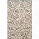 Safavieh Martha Stewart 8' X 10' Hand Woven Rug in Gray and Ivory