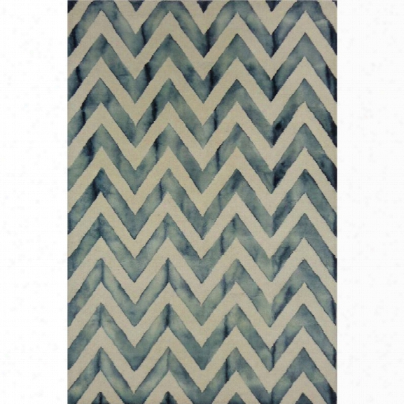 Safavieh Dip Dye 9' X 12' Hand Tufted Wool Pile Rug In Ivory Ad Gray