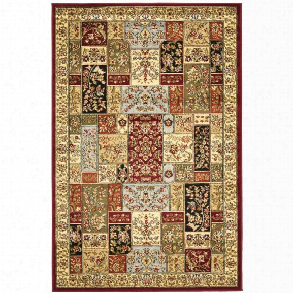 Safavieh Lyndhurst 12' X 18' Power Loomed Rug In And Ivory