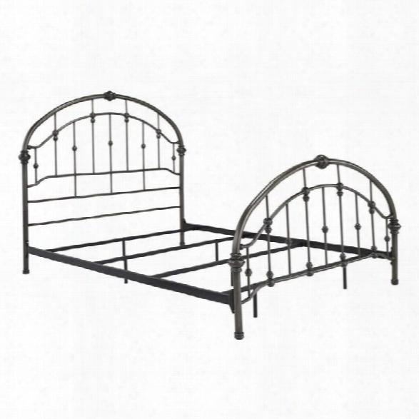 Ashley Nashburg Metal King Bed In Bronze