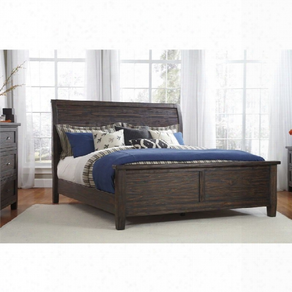 Ashley Trudell King Panel Bed In Trudell