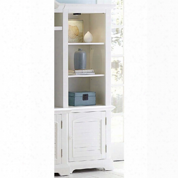 Liberty Furniture Summer House Right Entertainment Pier In White