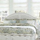Liberty Furniture Summer House I King Panel Headboard in Oyster White