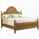 Tommy Bahama Home Beach House Belle Isle Bed in Golden Umber-Queen