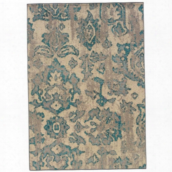 Oriental Weavers Kaleidoscope 9'9 X 12'2 Machine Woven Rug In Ivory