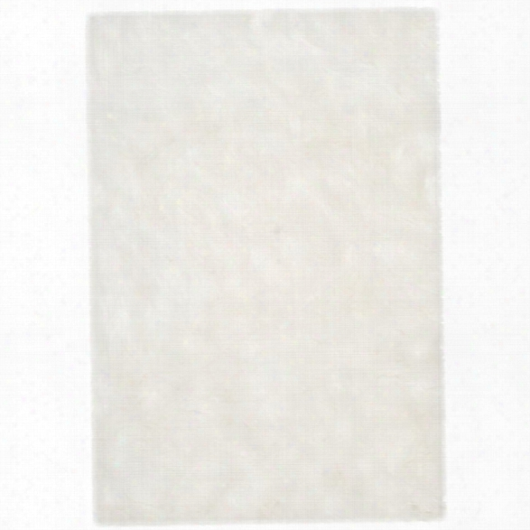 Safavieh Faux Sheep Skin 9' X 12' Power Loomed Acrylic Rug In Ivory