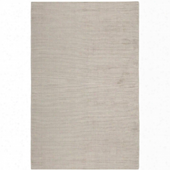 Safavieh Mirage 9' X 12' Loom Knotted Rug In Light Silver