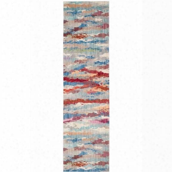 Safavieh Valencia 9' X 12' Power Loomed Polyester Rug