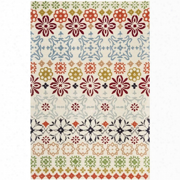 Safavieh Wyndham 8'9 Square Power Loomed Acrylic Rug In Ivory