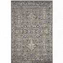 Safavieh Evoke 10' X 14' Power Loomed Rug in Dark Gray and Yellow
