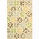 Safavieh Martha Stewart 8'6 X 11'6 Handmade Cotton Pile Rug in Creme