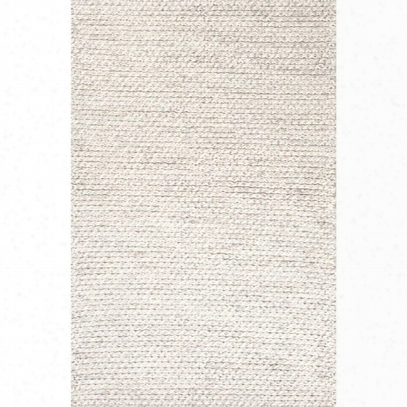 Jaipur Rugs Scandinavia Dula 9' X 12' Textured Wool Rug In Iv Ory