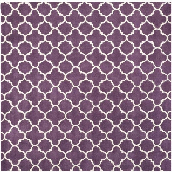 Safavieh Chatham Purple Contemporary Rug - Square 8'9