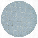 Loloi Panache 7'6 Round Hand Hooked Wool Rug in Mist