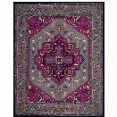 Safavieh Bellagio 8' X 10' Hand Tufted Rug in Gray and Pink